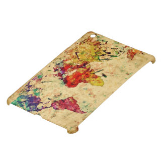 Vintage world map case for the iPad mini