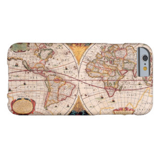 Vintage World Map Circa 1600 Barely There iPhone 6 Case