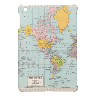 Vintage World Map Cover For The iPad Mini