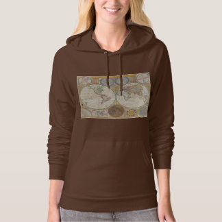 Vintage World Map Hoodie