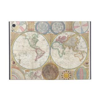 Vintage World Map iPad Mini Covers
