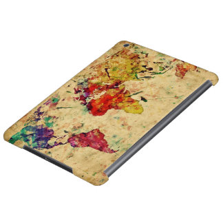 Vintage world map case for iPad air