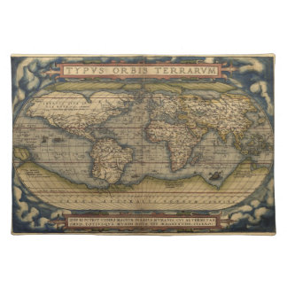 Vintage World Map Placemat