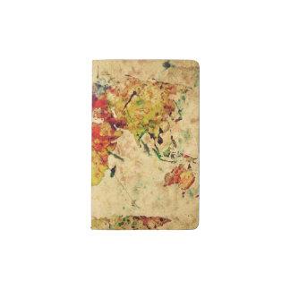 Vintage world map notebooks journals zazzle vintage world map pocket moleskine notebook gumiabroncs Gallery