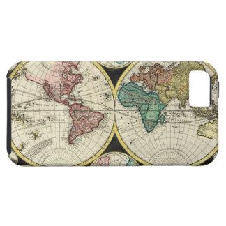 Vintage World Map - Zazzle iPhone 5 case