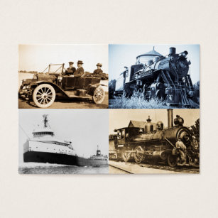 Steam train business cards business card printing zazzle uk vintage world of transportation business card reheart