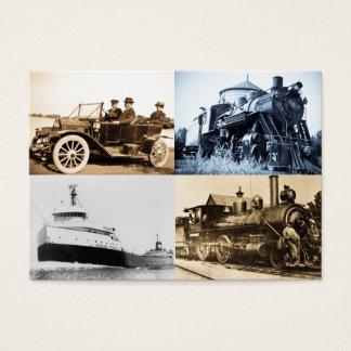 Vintage World of Transportation Business Card