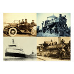 Vintage World of Transportation Pack Of Chubby Business Cards