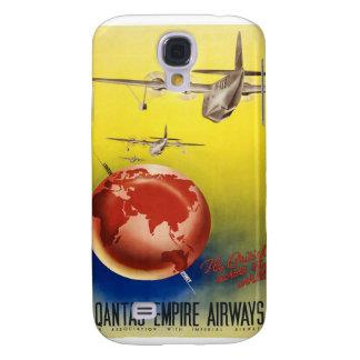 Vintage World Travel Poster Galaxy S4 Case