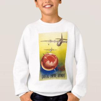 Vintage World Travel Poster Sweatshirt
