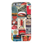 Vintage World Traveller Luggage Tags for iPhone 6