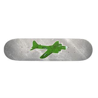 Vintage World War 2 Bomber Military Aircraft Skate Boards