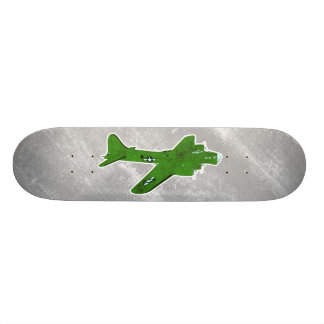 Vintage World War 2 Bomber Military Aircraft Skateboard Decks