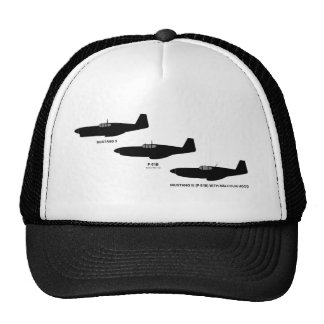Vintage World War II North American P-51 Mustang Cap