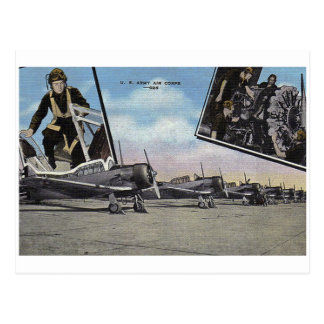 Vintage World War II Post Card Aviation
