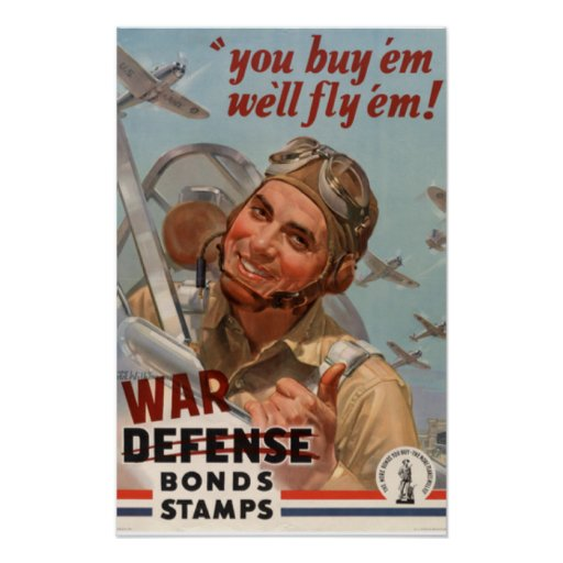 Lucky man!! vintage world war 2 posters