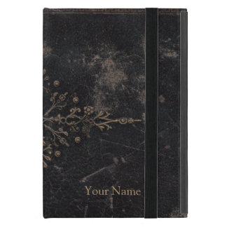 Vintage Worn Fleur-de-lis Book Covers For iPad Mini