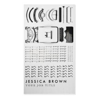 Vintage Writer Typewriter Custom Business Card