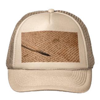 Vintage writing cap