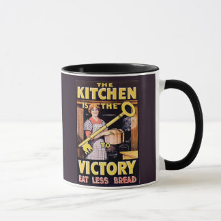 Vintage WW1 Kitchen is the Key to Victory Mug