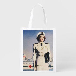 Vintage WW II Navy Nurse