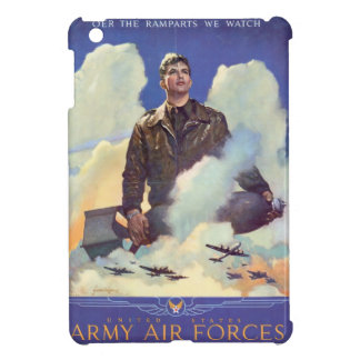 Vintage WWII Air Force Poster Design iPad Mini Case