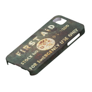 Vintage WWII First Aid iPhone 5 Case
