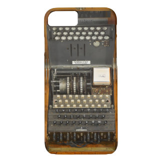 Vintage WWII German Enigma iPhone 8/7 Case