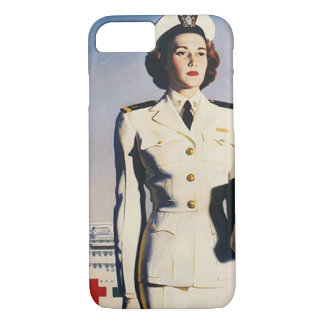 Vintage WWII Navy Nurse iPhone 8/7 Case