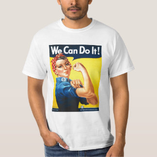 Vintage WWII poster we can do it T-Shirt