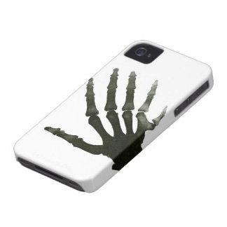 Vintage X-Ray Six Finger Hand Skeleton Bones iPhone 4 Cover
