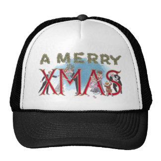 Vintage XMAS Formal Wear Partiers Hats