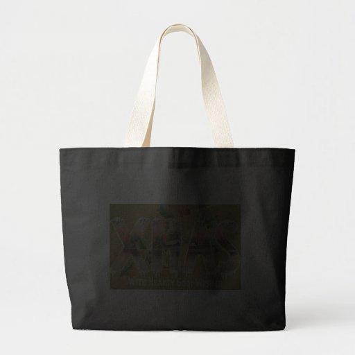 Vintage Xmas Wishes Bag