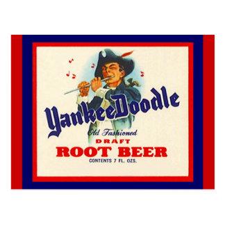 Vintage Yankee Doodle Root Beer Postcards