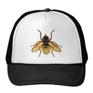 Vintage Yellow Bee Cap