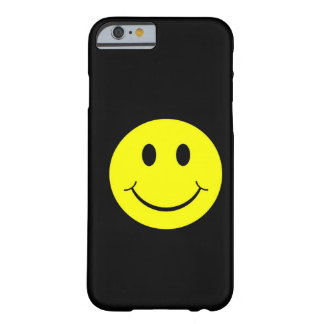 Vintage Yellow Happy Smiley Face iPhone 6 case Barely There iPhone 6 Case