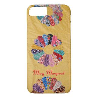 Vintage Yellow Quilt iPhone 8/7 Case