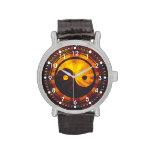 Vintage Yin Yang Symbol Watch