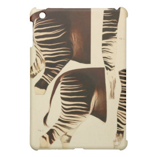 Vintage zebra / okapi scientific illustration ipad iPad mini cover