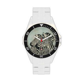 Vintage Zebras Watch