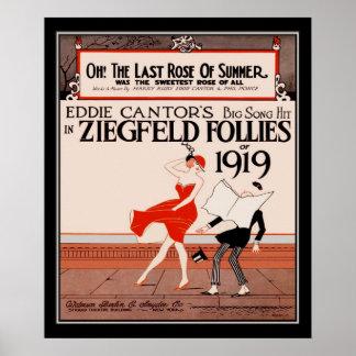 Vintage Ziegfield Follies of 1919 Print
