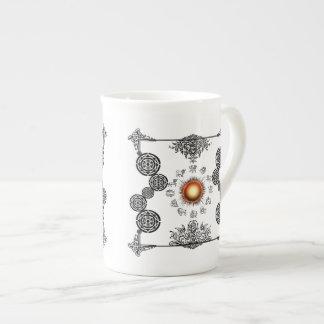 Vintage Zodiac Art Deco Design Bone China Mug