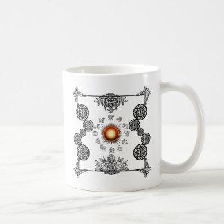 Vintage Zodiac Art Deco Design Coffee Mug