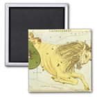 Vintage Zodiac, Astrology Capricorn Constellation Magnet