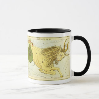 Vintage Zodiac, Astrology Capricorn Constellation Mug