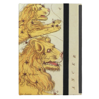 Vintage Zodiac, Astrology Leo Lion Constellation Cover For iPad Mini