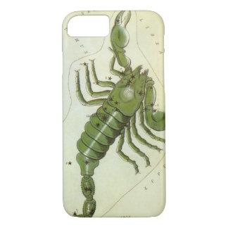 Vintage Zodiac, Astrology Scorpio Constellation iPhone 7 Case