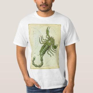 Vintage Zodiac, Astrology Scorpio Constellation T-Shirt