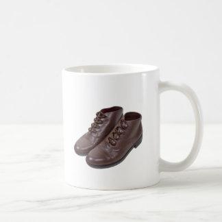 VintageButtonShoes122111 Basic White Mug