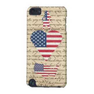 VintageI heart America iPod Touch 5G Cover
